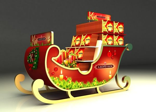 Korkunov 3D stands on Behance