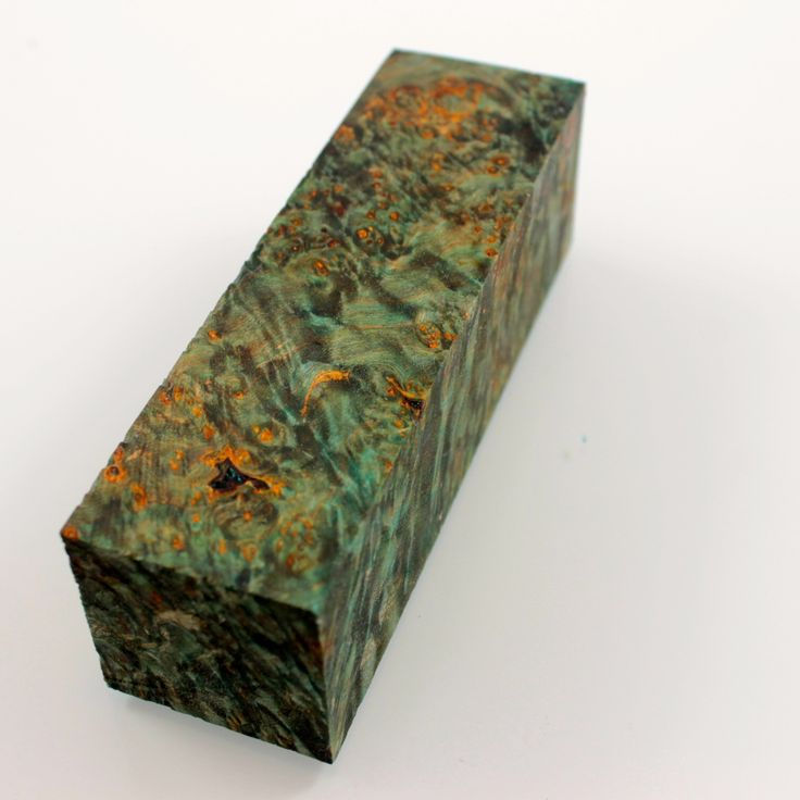 Stabilized Maple Burl Wood Turning Blank, Stabilized Mapple Burl Dyed Green, Ideal for your turning project