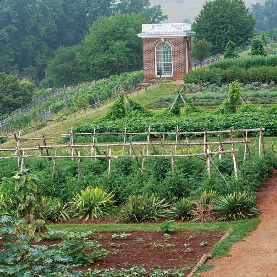 How to Plant a Garden Using Jeffersonian Principles - Farm and Garden - GRIT Magazine