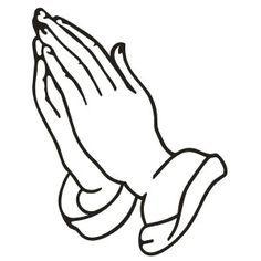 Praying Hands Decal Sticker - ClipArt Best - ClipArt Best