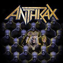 Die legendären Thrash-Metaller Anthrax kommen ab Februar 2017 auf Deutschlandtour!
