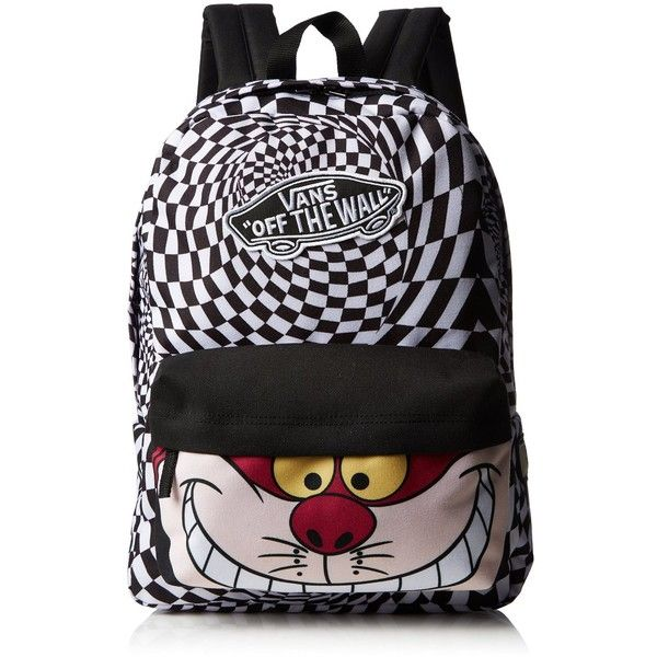 Amazon.com: VANS - Disney Cheshire Backpack - One Size: Shoes (56 CAD) ❤ liked on Polyvore featuring backpacks, mochila and shoes