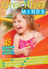 Creative Minds is a fantastic new digital magazine, full of great inspirational ideas for active young minds!  Published on a quarterly basis, Creative Minds provides childminders, nannies, nursery teachers, pre-schools and anyone involved in early years' childcare, with many, easy to carry out craft projects and creative activities to make and do with children from 0 to 11 years old.    Exclusive to Morton Michel policyholders!