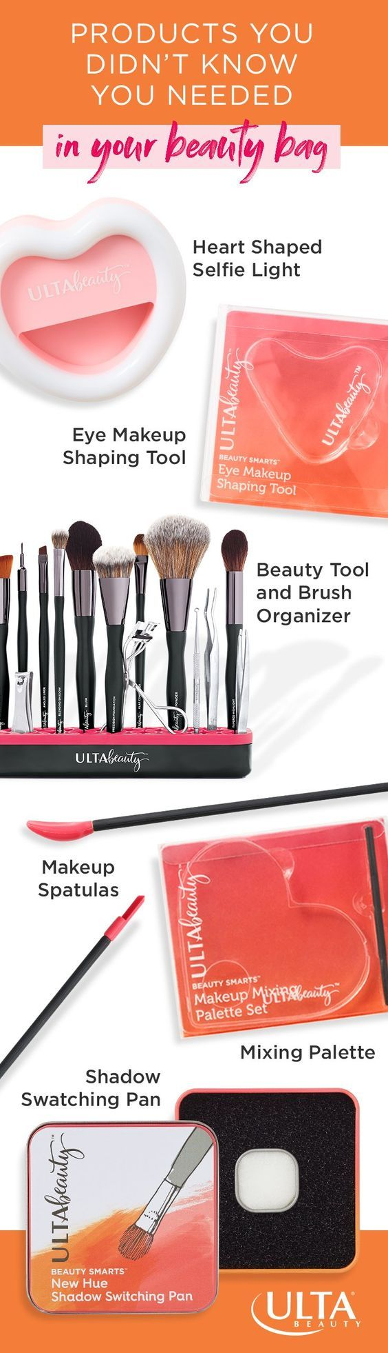 Meet your beauty bag lifesavers. Tools and products that help you minimize how m…