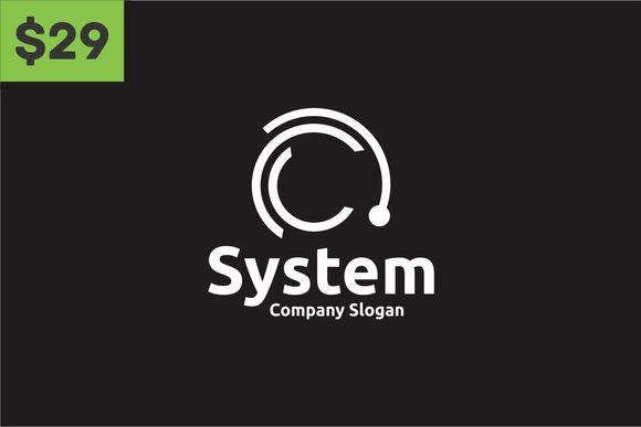 System Logo by BekBlack on @creativemarket