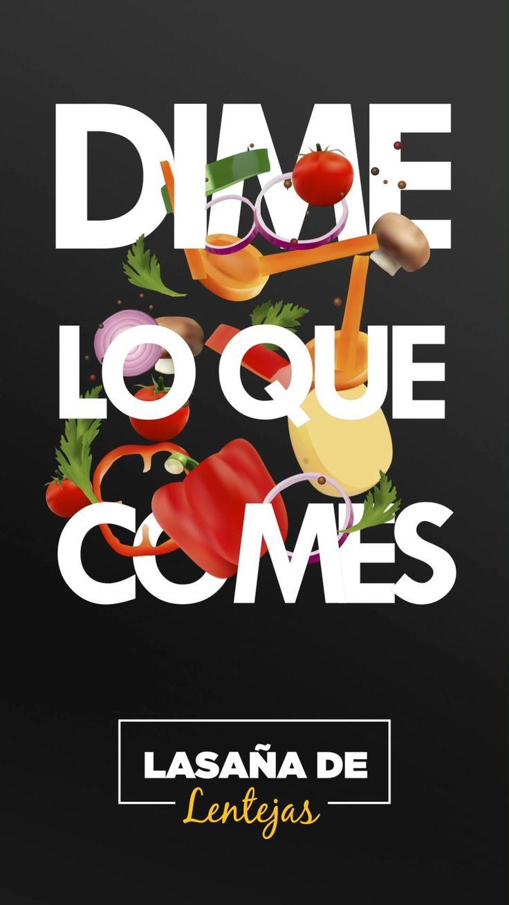 Receta de Lasaña con boloñesa de lentejas de Silvia Riolobos en el programa Dime lo que comes. No te pierdas más recetas como esta en Canal Cocina de lunes a viernes a las 21h Healthy Meal Prep, Healthy Cooking, Vegan Recipes, Veggies, Yummy Food, Veggie Burgers, Meals, Pasta, Chocolate