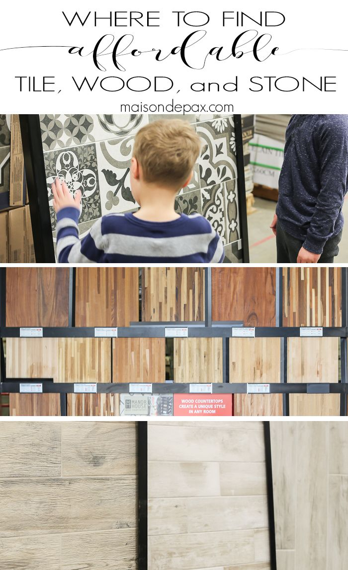 Where to Find Affordable Tile  Stone  and Wood. 310 best Affordable Furniture and Home Decor images on Pinterest