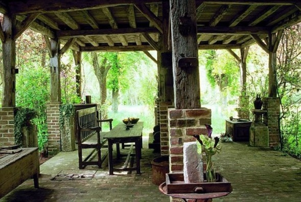 Beautiful Outdoor Space | Rustic Outdoor Kitchens ...