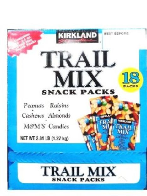 I'm learning all about Kirkland Trail Mix Snacks Peanut M7M Candies Raisins Almonds Cashews at @Influenster!