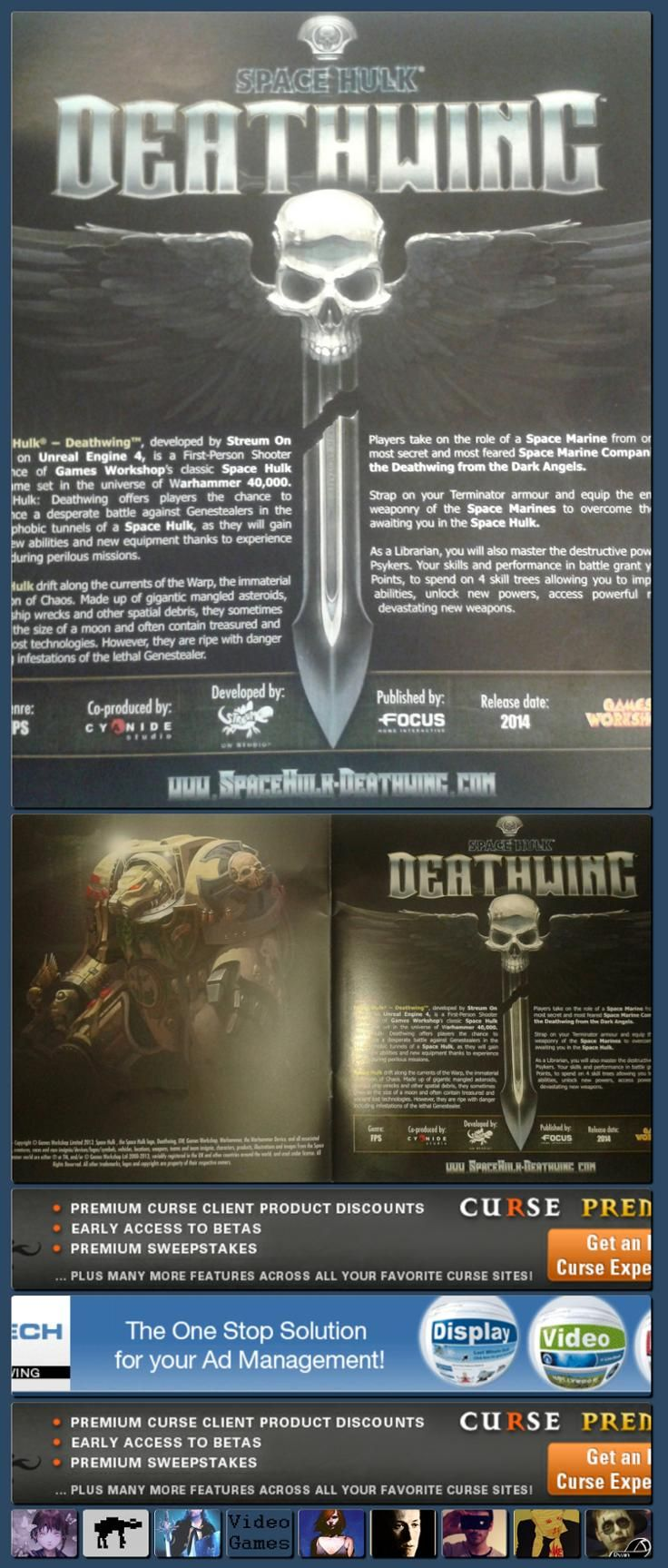 Space Hulk: Deathwing Leaked (FPS / Unreal Engine 4 / Streumon Studio) - NeoGAF [Collage made with one click using http://pagecollage.com] #pagecollage