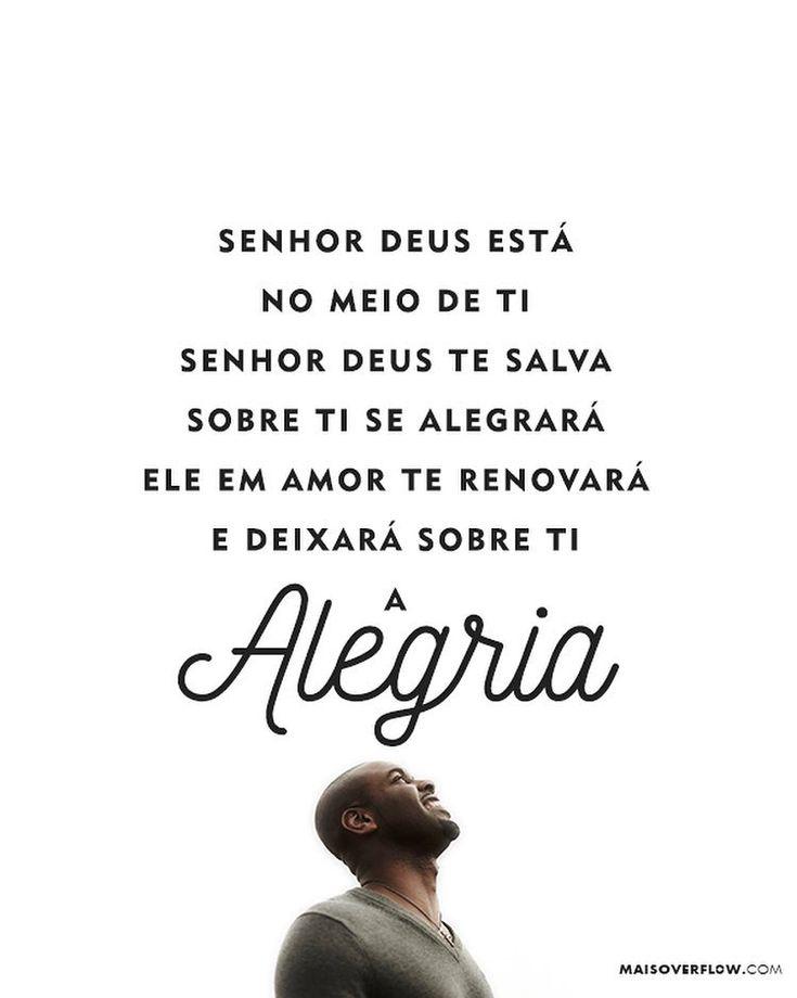 """""""Senhor Deus está no meio de ti. Senhor Deus te salva. Sobre ti se alegrará. Ele em amor te renovará e deixará sobre ti a alegria."""" - Sofonias 3:17 () maisoverflow.com  #30daysofbiblelettering  X"""