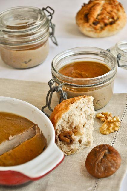 Terrine de foie de volailles au Porto façon foie gras et sa gelée au Calvados