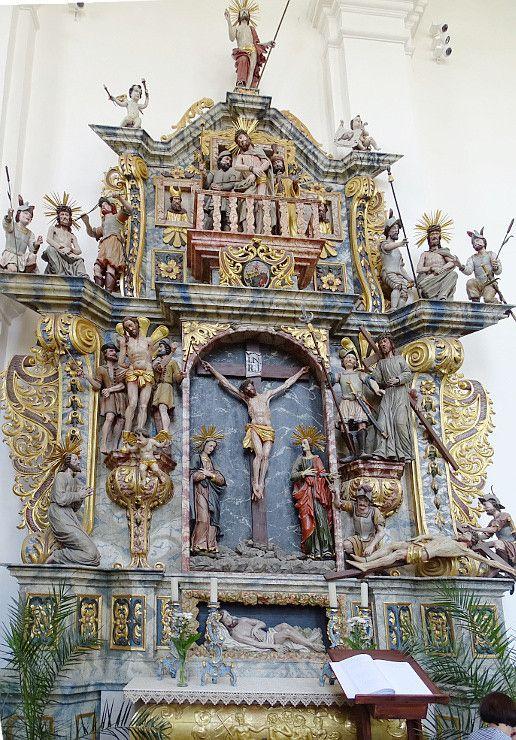 Nyírbátor Római katolikus templom- Krucsay oltár----Kné.A.