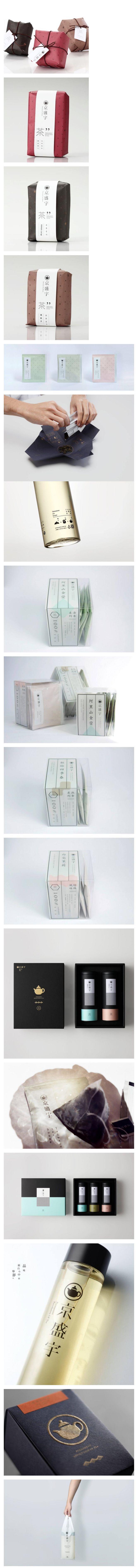 packaging / package design | Taiwan Tea Packaging 台湾茶品牌京盛宇: