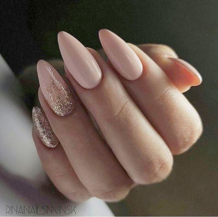 Jindin 24 Sheet French Matte Fake Nails For Women Acrylic Nail