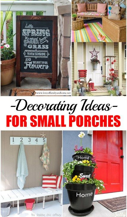15 Appealing Small Dining Room Ideas: Best 25+ Small Porch Decorating Ideas On Pinterest