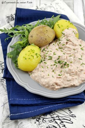 Experimente aus meiner Küche: Pellkartoffeln mit Thunfischquark