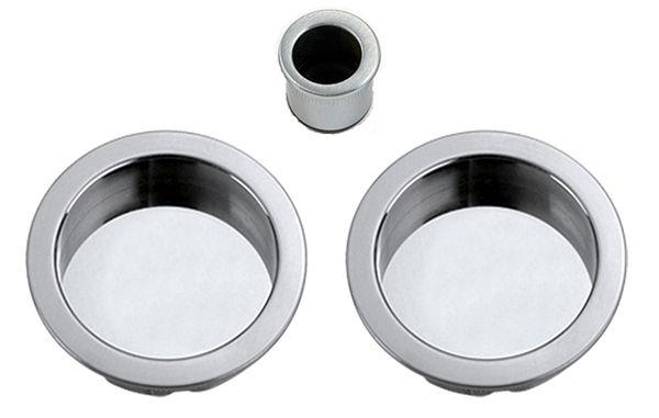 Flush Pull Set for Sliding Pocket Door