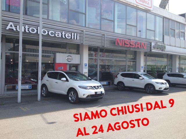 Autolocatelli Concessionario Nissan, Siamo Chiusi dal 9 al 24 Agosto