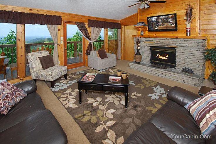 Hayden 39 s ridge is a beautiful 3 br 3 ba log cabin for Eagles ridge log cabin