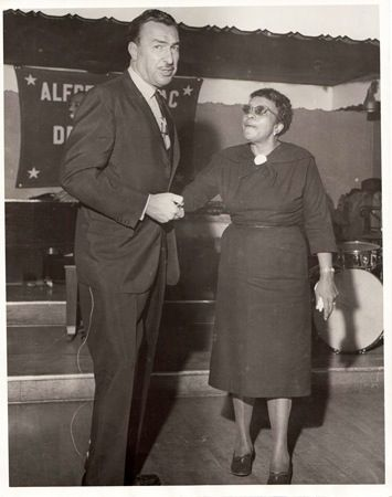 Jackie moms Mabley 1894 to 1975 Congressman : Adam Clayton Powell 1908 to 1972