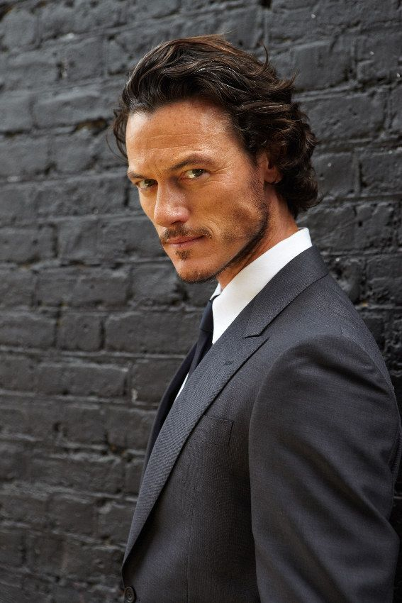 Luke Evans, I just want to chew on his jawline.....no judging.