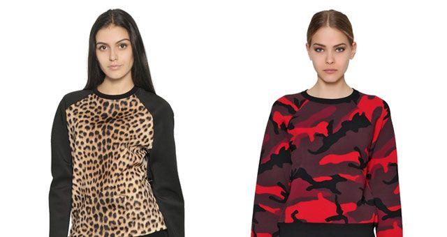 Finalmente possiamo dare il benvenuto a calde e comode felpe microsize. Da Kenzo, a D&G, MSGM, Valentino, Givenchy, McQueen insomma tutti pazzi per le felpe http://www.sfilate.it/235125/inverno-2015-felpa-couture-moda-comodita
