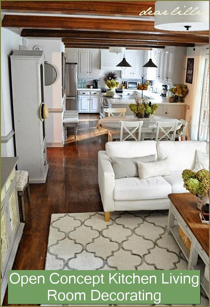 Open Concept Kitchen Living Room And Dining Room Small Living Dining Living Room Dining Room Combo Dining Room Combo