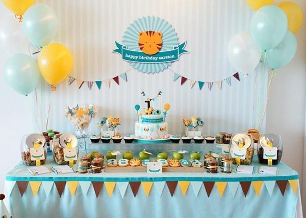 Baby Tiger Party zander-s-first-birthday