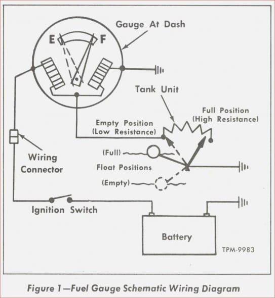 1957 Chevy Fuel Gauge Wiring Diagram In 2020 Gauges Chevy Diagram