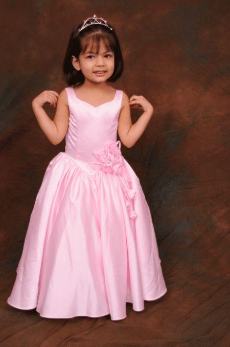 The 68 best flower girl dresses images on pinterest dresses for pale pink rose bunch flower girl dress mightylinksfo