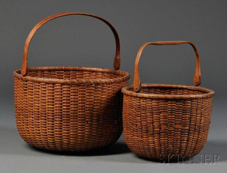 Basket Weaving Vancouver Bc : Swing handle nantucket basket cestaria com estilo
