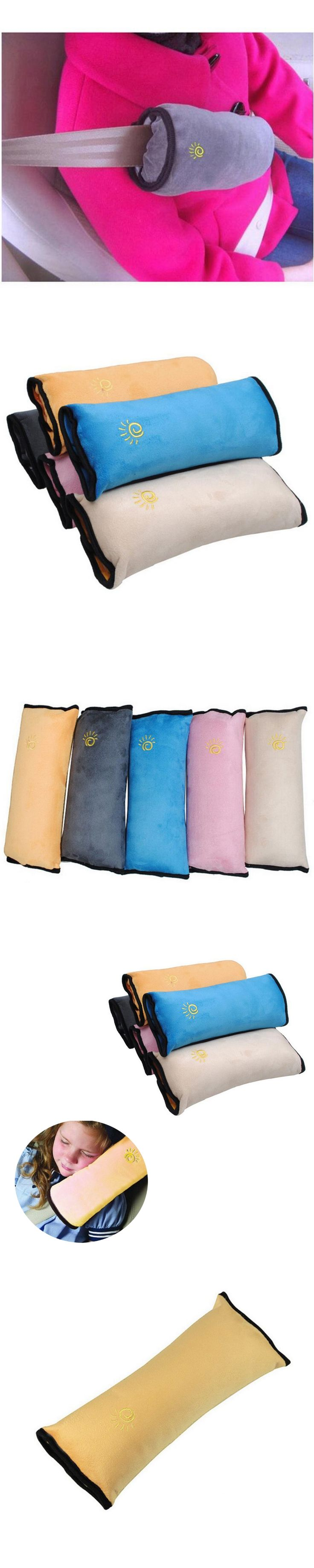 New Baby Car Auto Safety Seat Belt Harness Shoulder Children Protection Covers Cushion Support Pad Cover Pillow Car Accessories