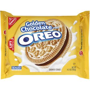 Nabisco Oreo Golden Chocolate Creme Sandwich Cookies, 14.3 oz