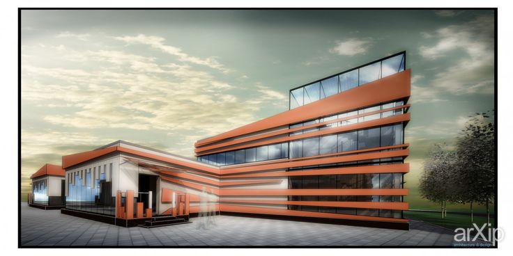 Проект клиники #architecture #архитектура #2floors_6m #2этажа_6м #minimalism #минимализм #200_300m2 #200_300м2 #frame_ironconcrete #каркас_ж/б #highrisebuilding #structure #зданиемногоэтажное #строение #hospital #medicalcenter #clinic #больница #медцентр #поликлиника