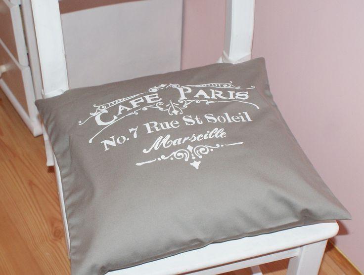poduszka na krzesło Shabby chic