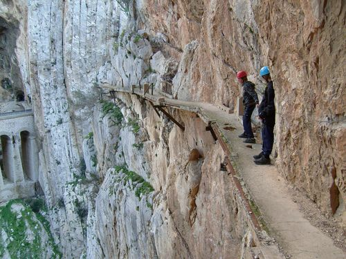 Most Dangerous Hiking Trail at El Caminito del Rey in Spain