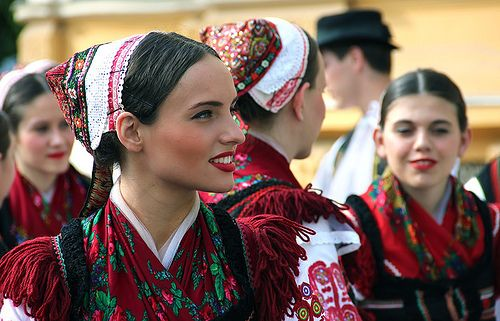 Folk Dance Festival in Szeged.- Hungary