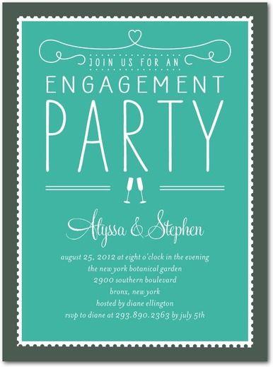 Free Engagement Party Invitation Templates Printable Samplescsatco