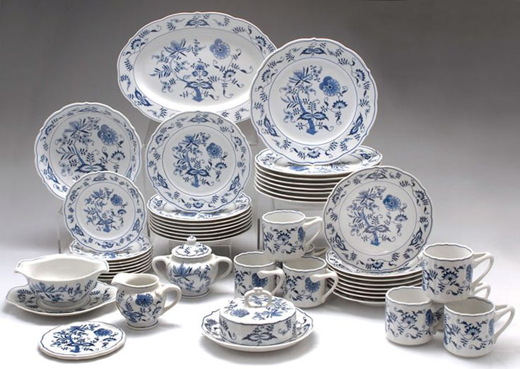 Blue Danube - Mother gave me a set of this lovely china many years ago. I treasure it!