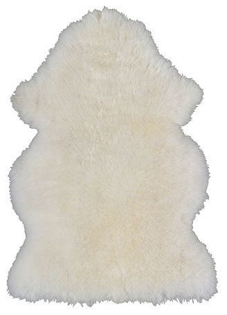 IKEA // RENS SHEEPSKIN RUG FOR TESSA CHAIRS