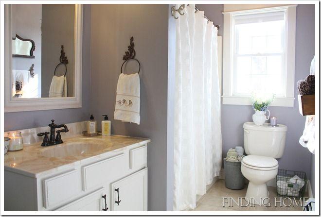 17 best images about bath on pinterest sw sea salt for Mauve bathroom ideas