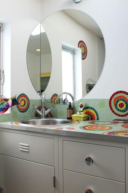 43 best creative uses of tile images on pinterest | room, bathroom