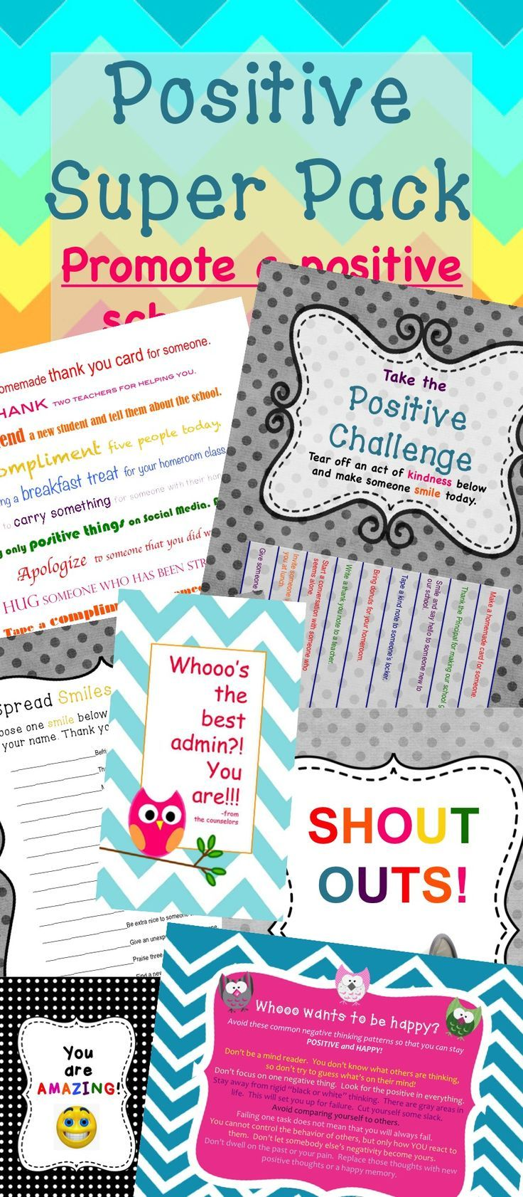 62 best behavior management images on pinterest behavior growth mindset activities mega bundle fandeluxe Images