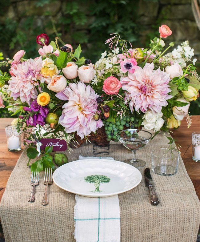Stunning Flower Inspiration and Wedding Ideas You Should See - wedding centerpiece idea; Christian Oth Studio