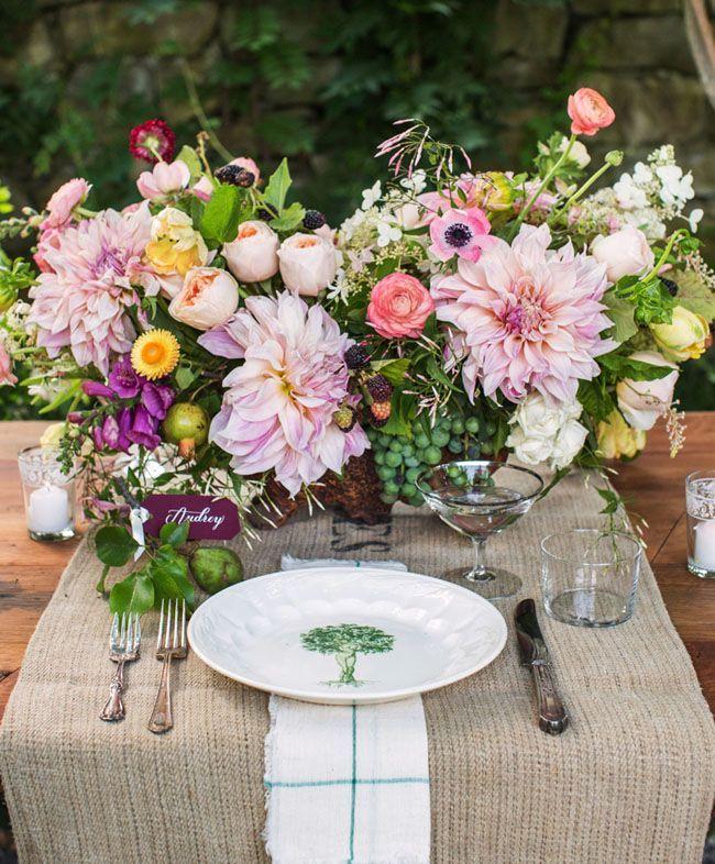 Stunning Flower Inspiration and Wedding Ideas You Should See - wedding centerpiece idea; Christian Oth Studio