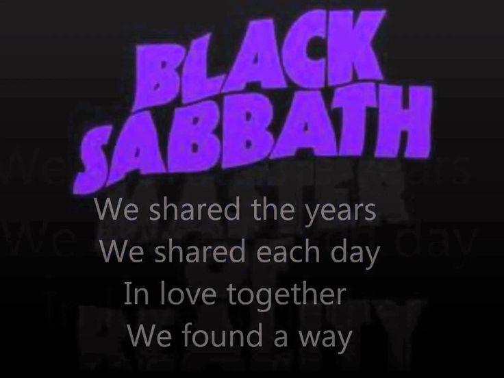 Black Sabbath-Changes lyrics