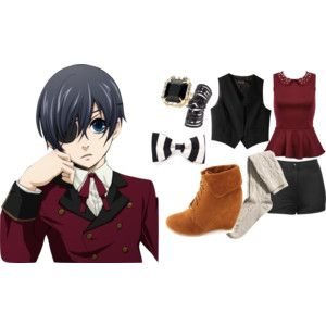 anime inspired outfits | ANIME INSPIRED OUTFITS; Ciel Phantomhive/Black Butler inspired outfit