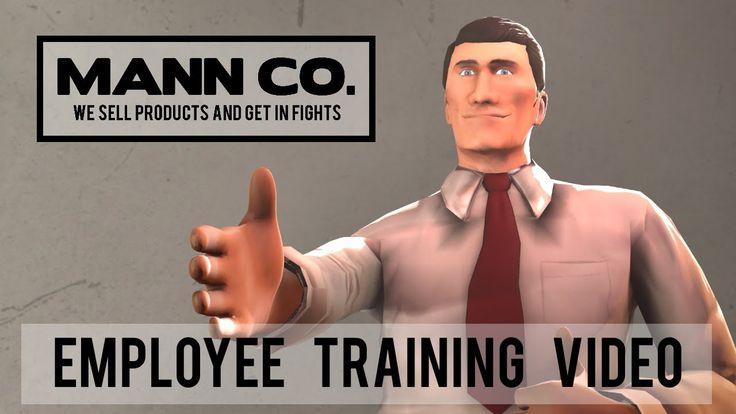 Mann Co.: Employee Training Video #games #teamfortress2 #steam #tf2 #SteamNewRelease #gaming #Valve