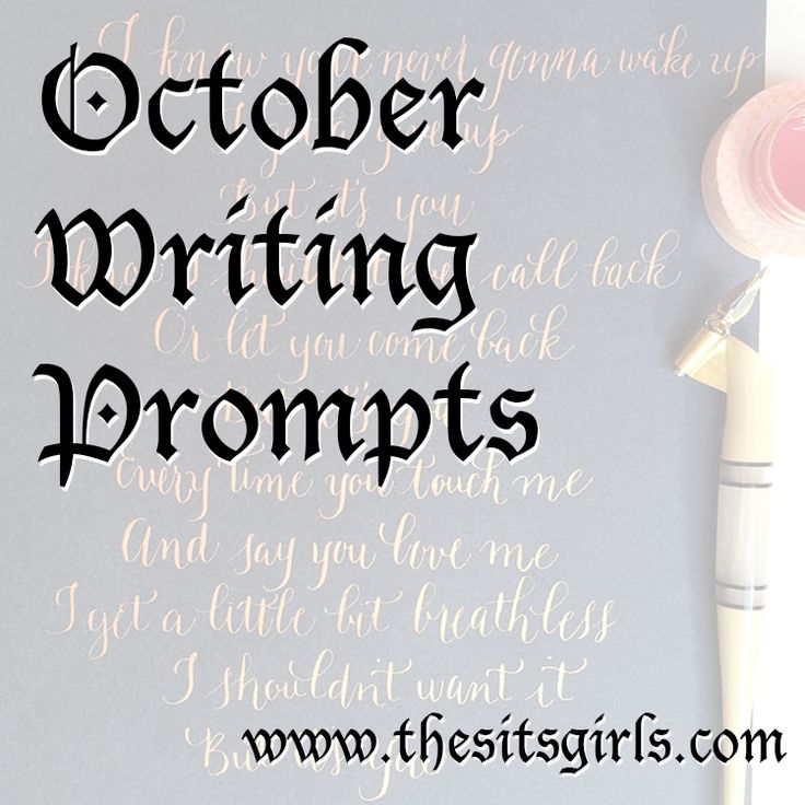 writing prompts for october These october writing prompts are perfect to include in your homeschool they  give your child an idea for every day of the month – getting them.